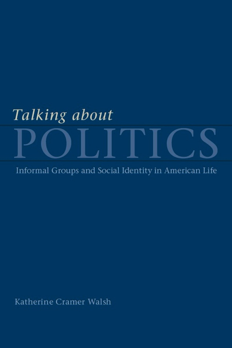 Cover of Talking about Politics